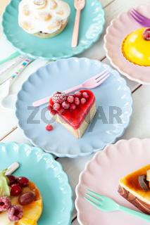 Leckere kleine Kuchen