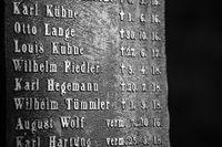 Mägdesprung Gedenkstein Opfer Gefallene des Weltkrieges