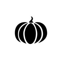 Pumpkin. Isolated icon. halloween and fall vector illustration