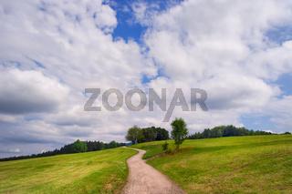 Wolkenimpression in Siegsdorf, Chiemgau