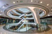 Galaxy SOHO Beijing building shopping mall modern architecture in China