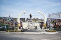 THAILAND ISAN SURIN CITY ELEPHANT SUQARE
