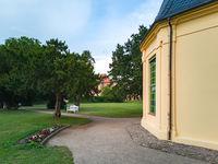 Darguner Schloss- und Klosterpark, Mecklenburg-Vorpommern, Deutschland
