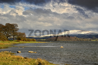 Bassenthwaite Lake On A Stormy Day