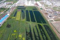 The sewage treatment plant in Slavyansk-on Kuban. Water for sewa