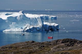diisko bay - ilulisaat und der Gletscher