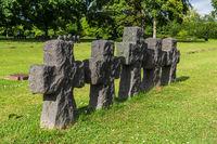 German war graves at La Cambe, France
