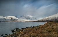 Loch Dochard in winter