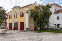 Old fire station in Aveiro in Portugal