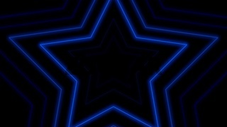 Colorful retro stars, abstract background
