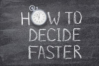 how to decide fast watch