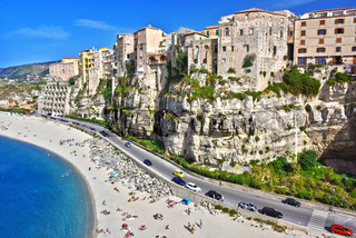 The city of Tropea, Calabria, Italy