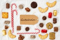Candy Christmas Collection, Label, Gutschein Means Voucher