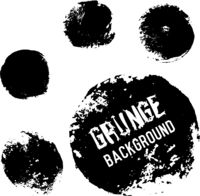 Grunge circle backgrounds. Useful for banners, logos, icons, labels and badges