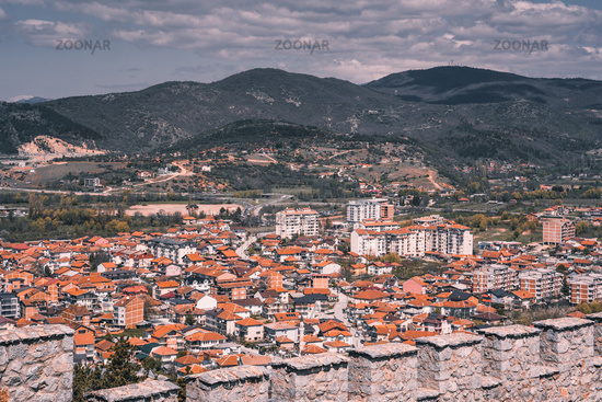 View of the Ohrid town
