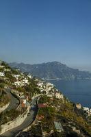 Kueste im Golf von Neapel