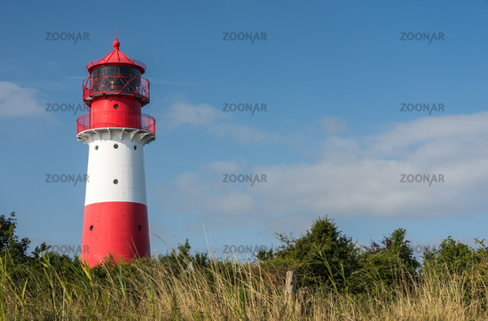 Leuchtturm Falshöft in Schleswig-Holstein, Ostsee, Deutschland