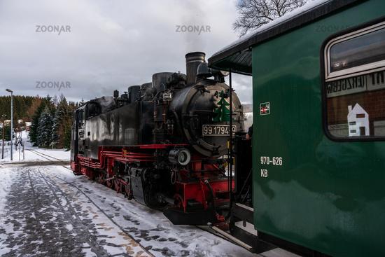 Narrow-gauge railways in Saxony, Fichtelberg railway.