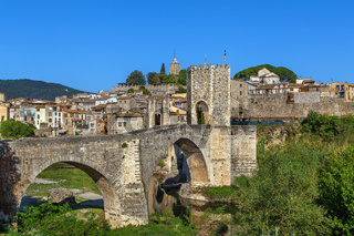 View of Besalu, Spain