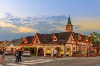 Solvang California twilight