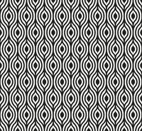 Seamless eye background in geometric style. Tiled.