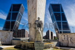Madrid, Plaza de Castilla