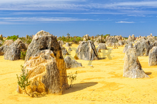 Pinnacles Desert in the  Nambung National Park - Cervantes