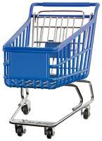 Supermarket Pushcart Cutout