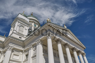 Cathedral of the Diocese of Helsinki, finnish Evangelical Lutheran church