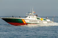 Guardia Civil coast guard patrol