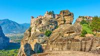 Monasteries of Varlaam and The Great Meteoron in Meteora