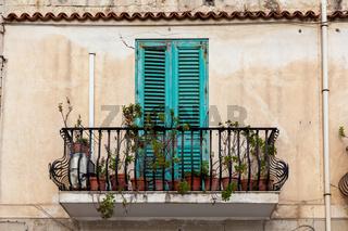 balcony sicily italy