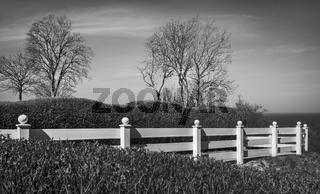 Der weisse Zaun