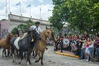 Traditional Gauchos Feast (spanish - Fiesta de la Tradicion) in San Antonio de Areco, province Buenos Aires, Argentina
