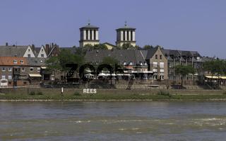 Stadt Rees, Niederrhein, NRW