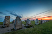 Ales Stenar - A megalithic stone ship monument in Southern Sweden