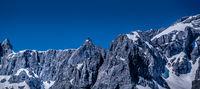 Bergmassiv in Österreich