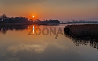Morgens am Tetzitzer See