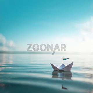 Paper Boat | sail away