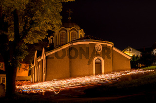 The Church of St. John the Baptist XVI Century, Gabrovo, Bulgaria. Medieval Christian Church.