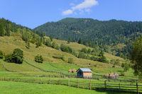 Landschaft bei Calinesti