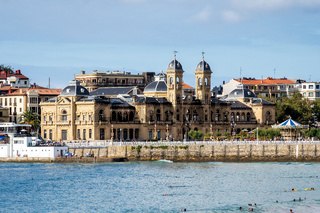 City Hall in San Sebastian - Donostia, Spain.