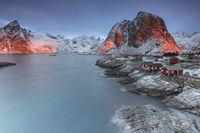 Hamnoy in Norwegen