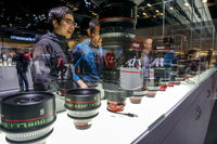 Canon stand in the Photokina Exhibition
