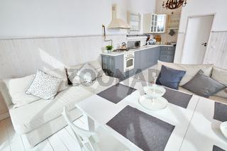 Minimalistic Dining Room Interior