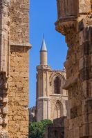 Lala Mustafa Pasha Mosque in Famagusta - Northern Cyprus