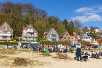 Am Elbstrand in Blankenese, Hamburg
