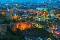 Panoramic view of Tbilisi