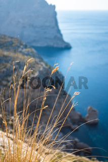 Dramatic Cliffs In Mallorca