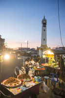 THAILAND ISAN SURIN CITY CLOCK TOWER